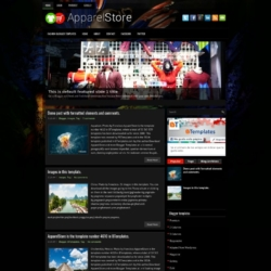ApparelStore Blogger Template