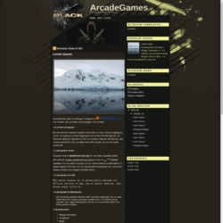 ArcadeGames Blogger Template