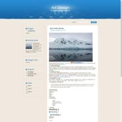 Art Design Blogger Template
