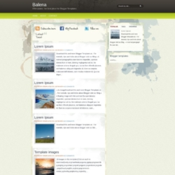 Balena Blogger Template