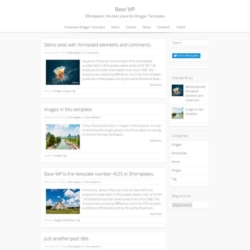 Base WP Blogger Template