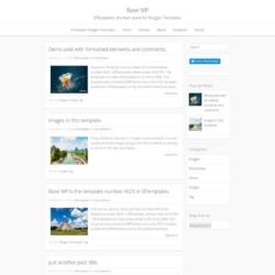 Base WP Blogger Template