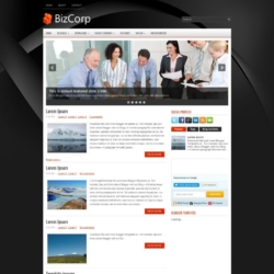 BizCorp Blogger Template