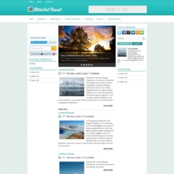BlissfulTravel Blogger Template