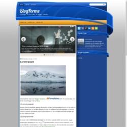 BlogForme Blogger Template