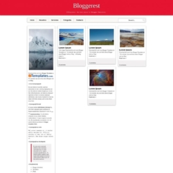 Bloggerest Blogger Template