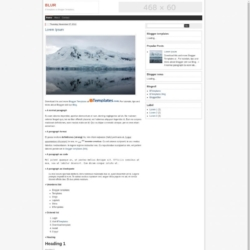 Blur Blogger Template