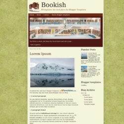 Bookish Blogger Template