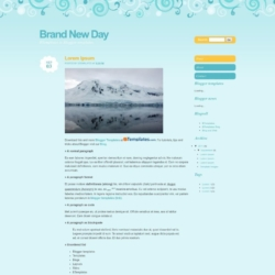 Brand New Day Blogger Template