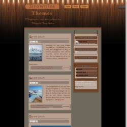 Brownies Themes Blogger Template