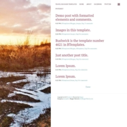 Bushwick Blogger Template