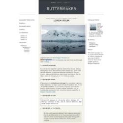 Buttermaker Blogger Template