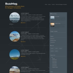 BuzzMag Blogger Template
