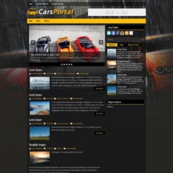 CarsPortal Blogger Template