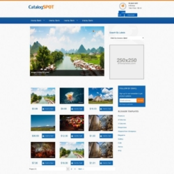 Catalogspot Blogger Template