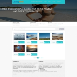 Catalogspot K2 Blogger Template