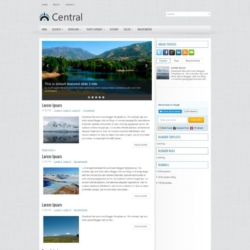 Central Blogger Template