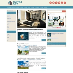 ChattelsBlog Blogger Template