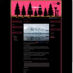 Christmas Fun Blogger Template