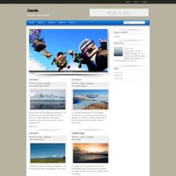 Cleanside Blogger Template
