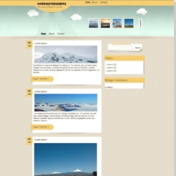 Compartidisimos Blogger Template