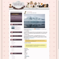 Cool and Cute Blogger Template