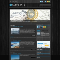 Cooperate Blogger Template
