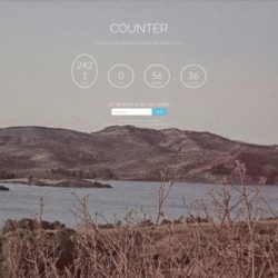 Counter Blogger Template