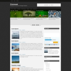 Covenant Blogger Template