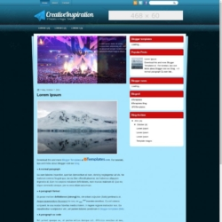 CreativeInspiration Blogger Template