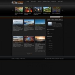 Darkgamer Blogger Template