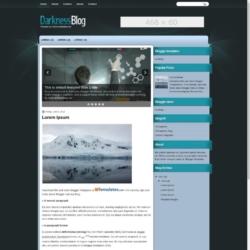 DarknessBlog Blogger Template