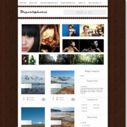 Deposit Photos Blogger Template