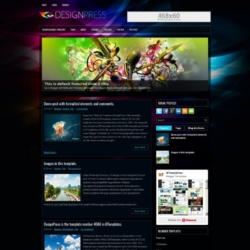 DesignPress Blogger Template