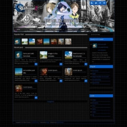 Devil Survivor 2 Blogger Template