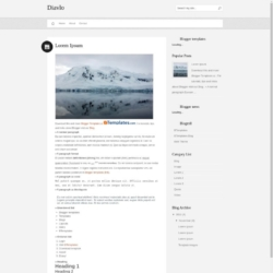 Diavlo Blogger Template
