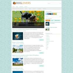 DogLovers Blogger Template