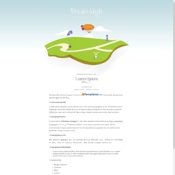 Dream High Blogger Template