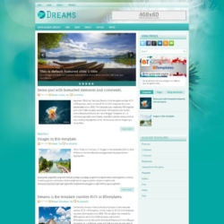 Dreams Blogger Template