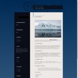 Dusk To Dawn Blogger Template