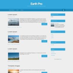 Earth Pro Blogger Template