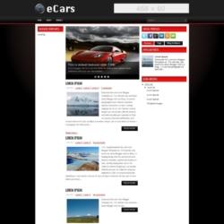 eCars Blogger Template