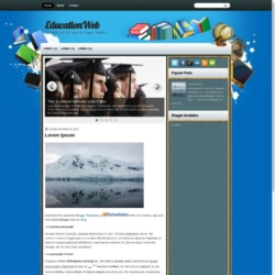 EducationWeb Blogger Template