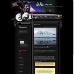 Elite Auto Blogger Template