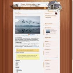 Estate Wonderprint Blogger Template