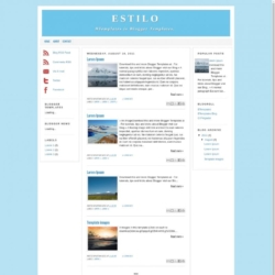 Estilo Blogger Template