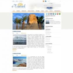 eTravel Blogger Template