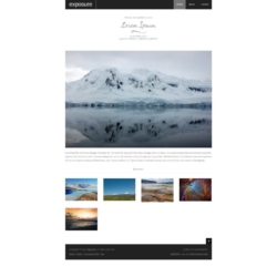 Exposure Blogger Template