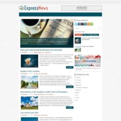 ExpressNews Blogger Template