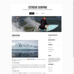 Extreme Surfing Blogger Template